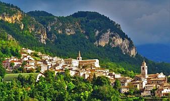 Porzione di casa in vendita via Santa Croce Caramanico Terme (PE)