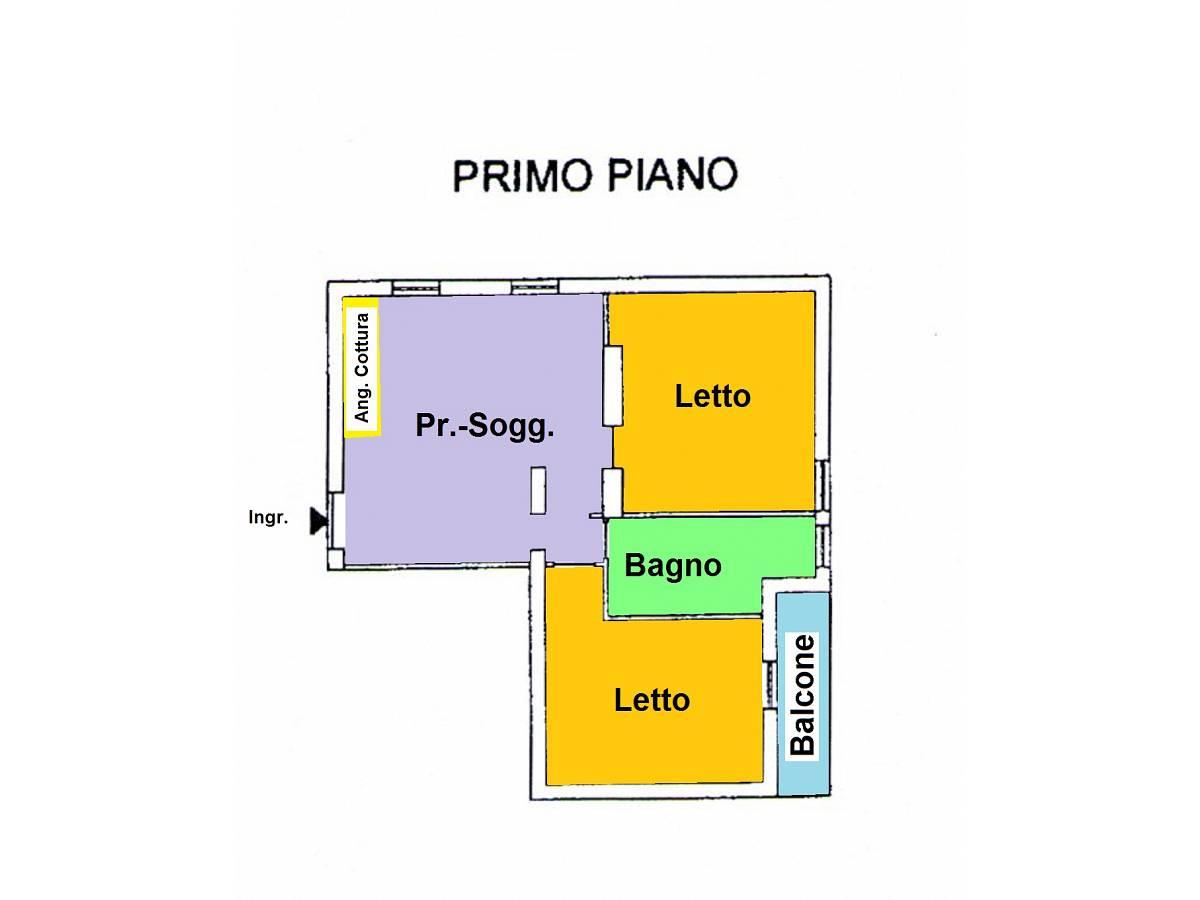 Appartamento in vendita in VIA G. C. SPATOCCO  a Chieti - 611499 foto 9