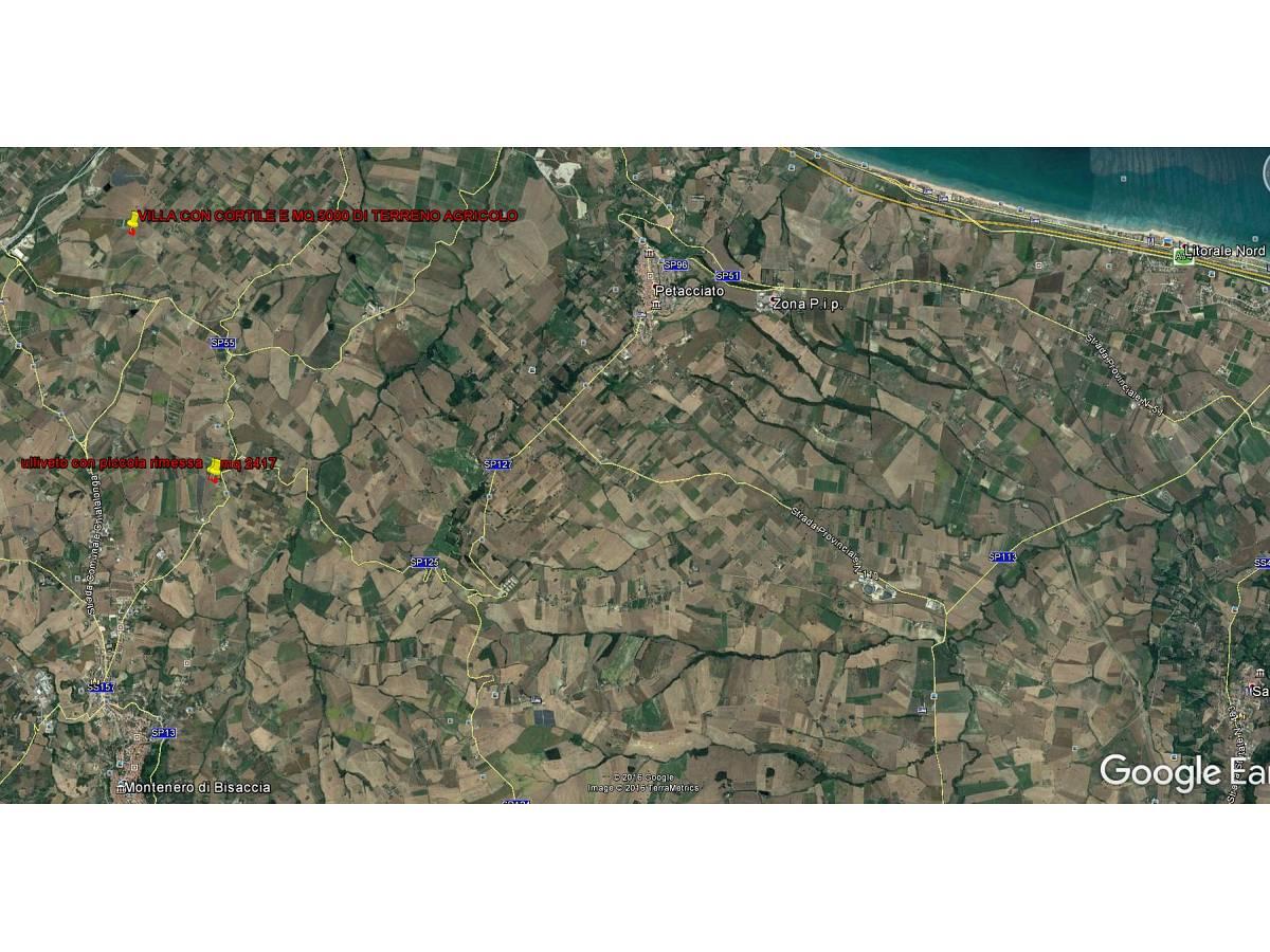 Terreno Agricolo in vendita in contrada colle delle ginestre  a Montenero di Bisaccia - 349047 foto 3