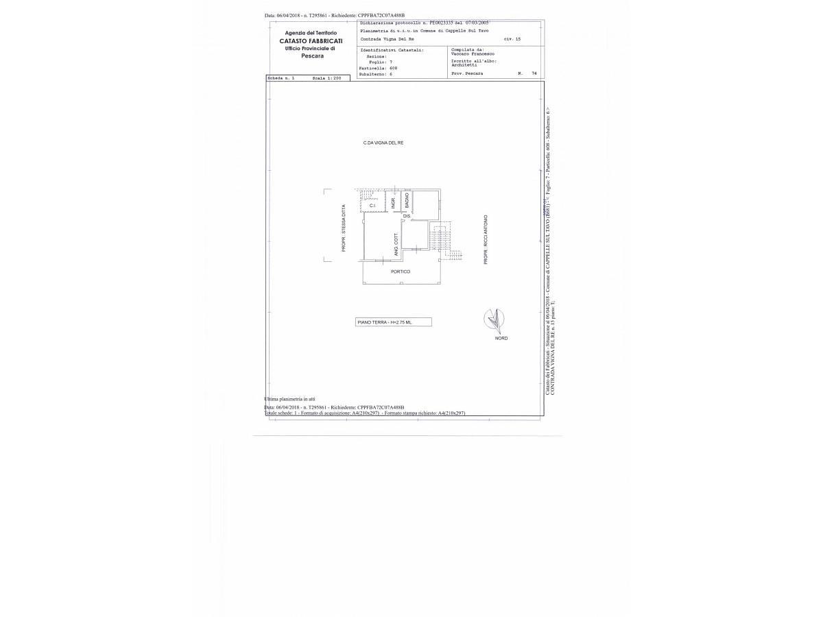 Villa in vendita in VIA VIGNA DEL RE  a Cappelle sul Tavo - 586414 foto 19