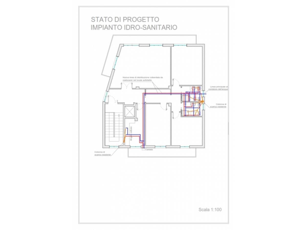 Appartamento in vendita in via Carlo Forlanini zona S. Barbara a Chieti - 6394046 foto 15