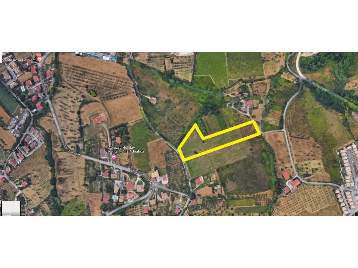 Terreno Edificabile Res. in vendita in C.da Collevento zona Colle a Montesilvano - 6857312 foto 3