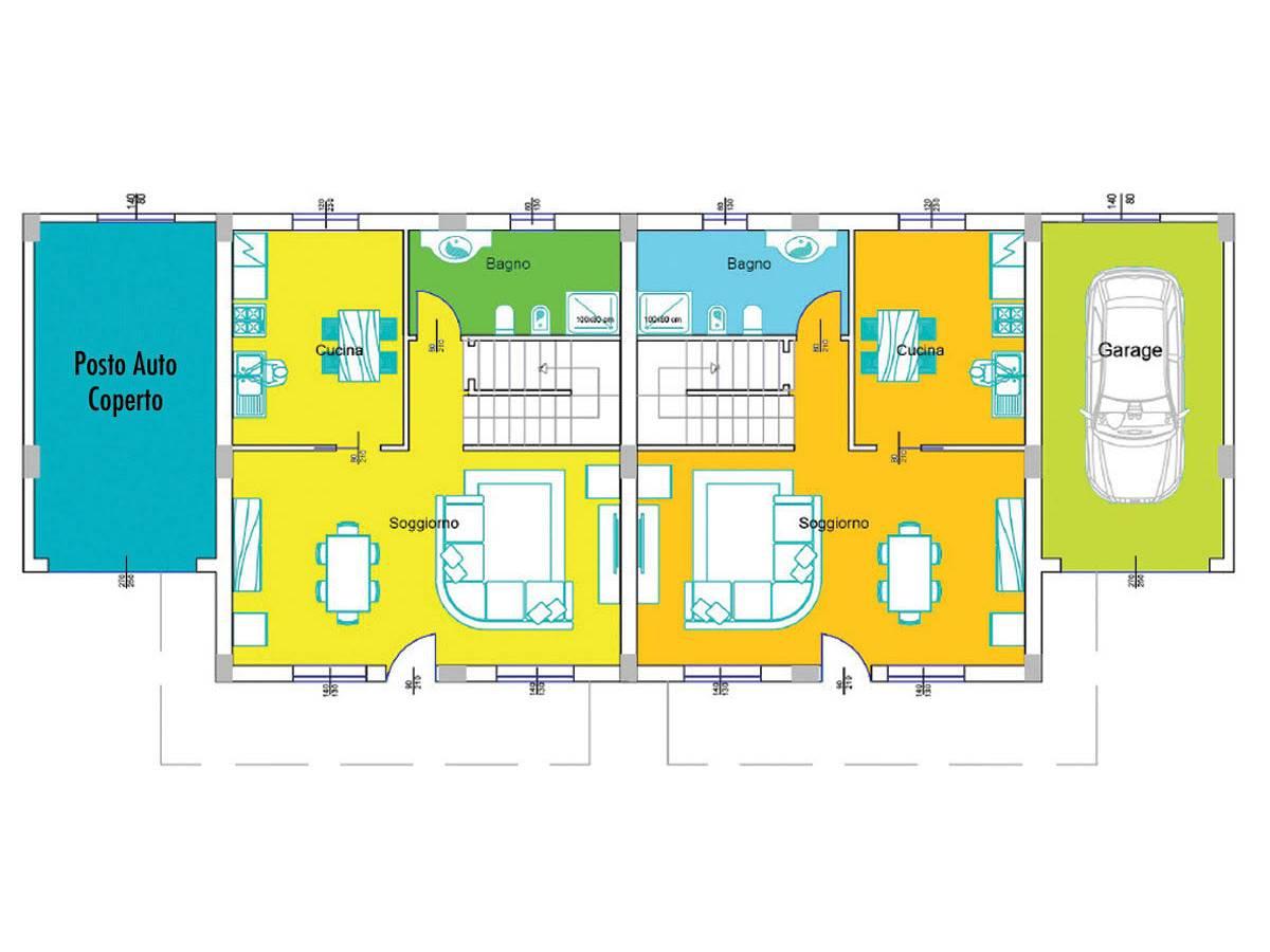 Villa bifamiliare in vendita in Via Picena zona Tricalle a Chieti - 5523919 foto 5