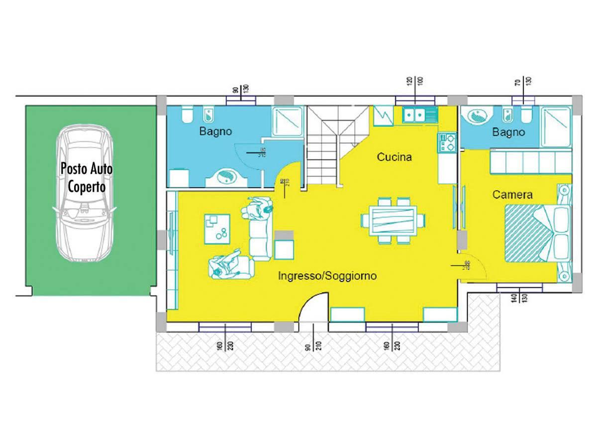 Villa bifamiliare in vendita in Via Picena zona Tricalle a Chieti - 5523919 foto 9