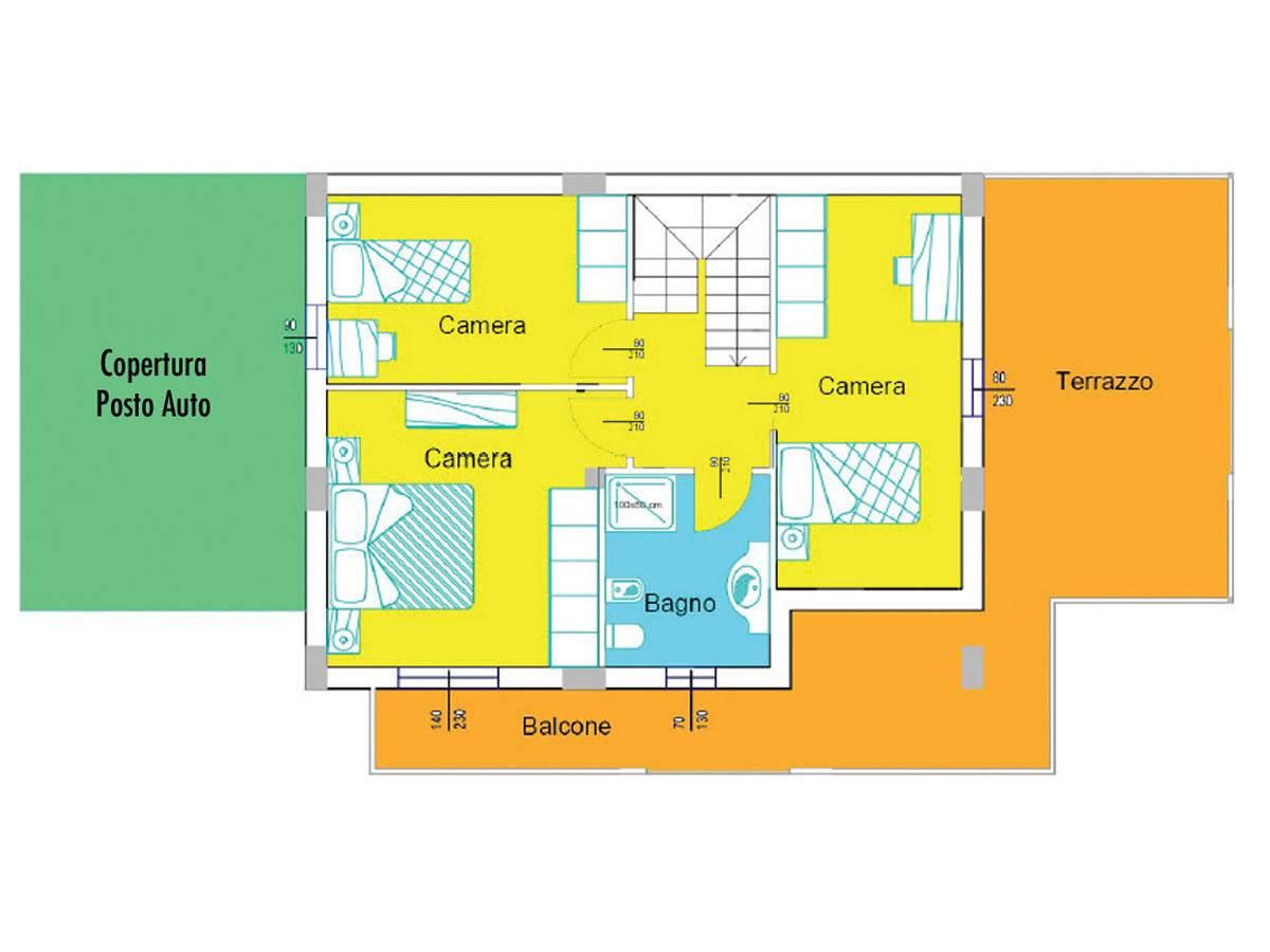 Villa bifamiliare in vendita in Via Picena zona Tricalle a Chieti - 5523919 foto 10