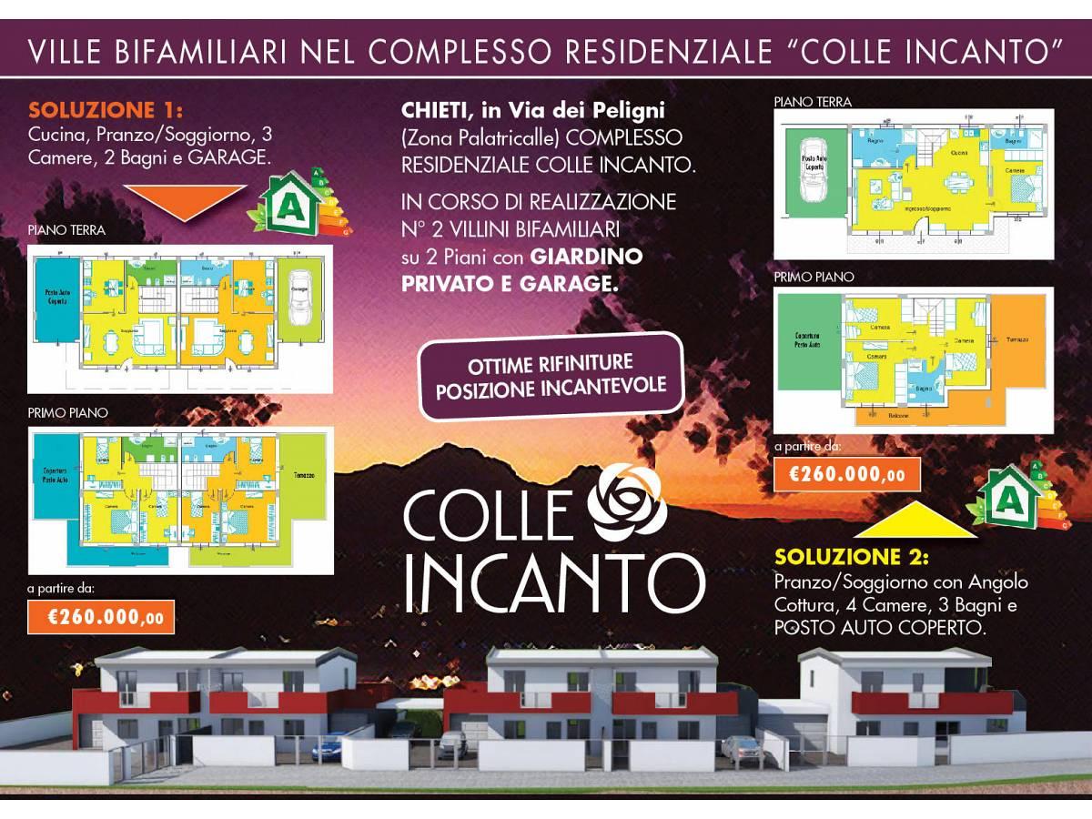 Villa bifamiliare in vendita in Via Picena zona Tricalle a Chieti - 5523919 foto 11