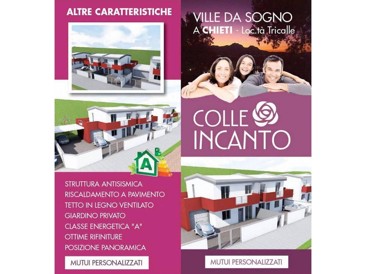 Villa bifamiliare in vendita in Via Picena zona Tricalle a Chieti - 5523919 foto 12