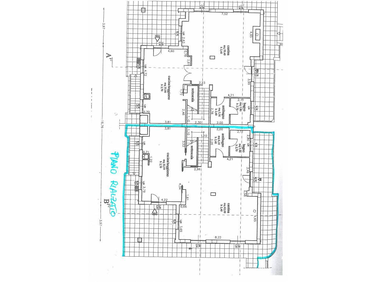 Villa bifamiliare in vendita in via alberto coppa  a Città Sant'Angelo - 6085682 foto 14