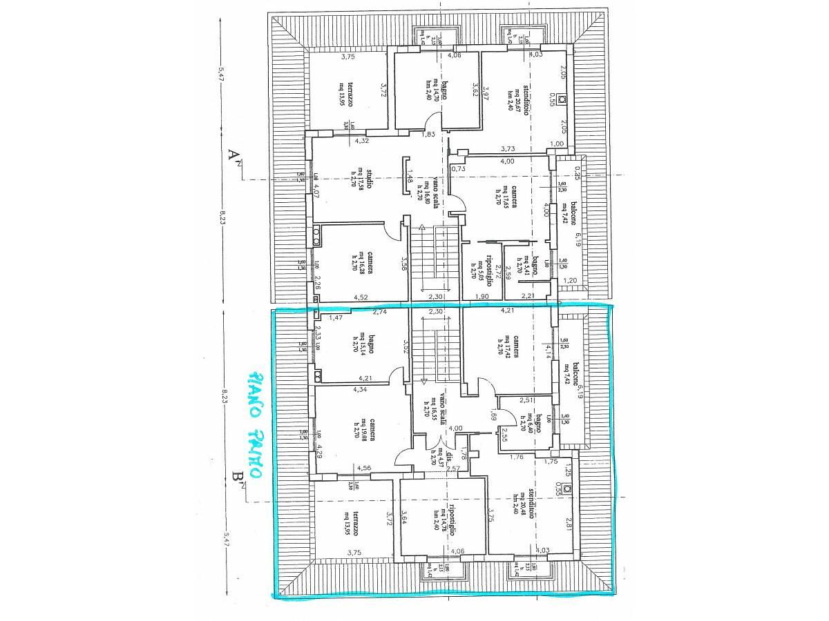 Villa bifamiliare in vendita in via alberto coppa  a Città Sant'Angelo - 6085682 foto 15