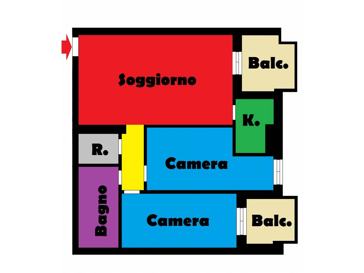 Appartamento in vendita in via livenza  a Montesilvano - 2971186 foto 16