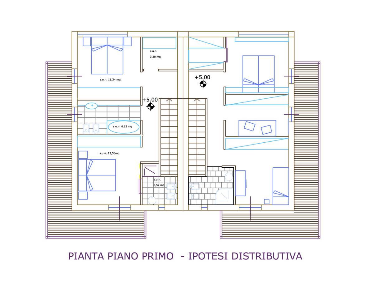 Villa bifamiliare in vendita in Fondo valle Alento  a Torrevecchia Teatina - 9091053 foto 5