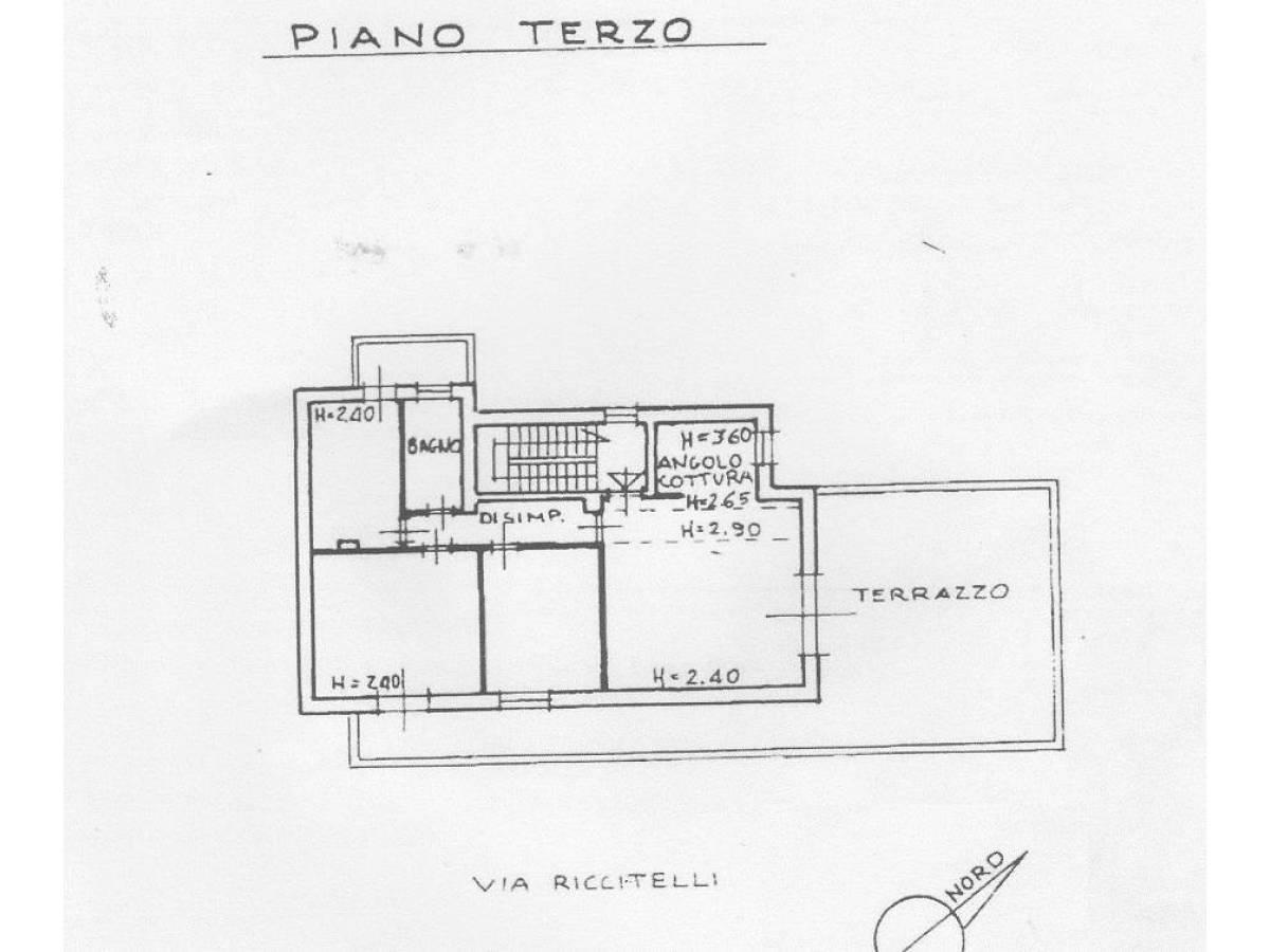 Attico in vendita in Via Riccitelli 23 zona Centro Sud - Stadio a Pescara - 1456537 foto 8