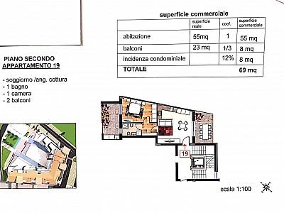 Appartamento in vendita a Cappelle sul Tavo