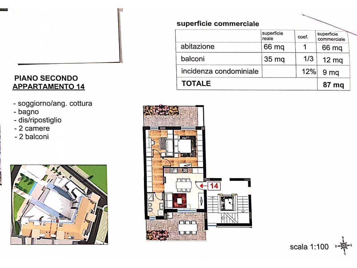 Appartamento in vendita in via vestina mare  a Cappelle sul Tavo - 8566437 foto 11