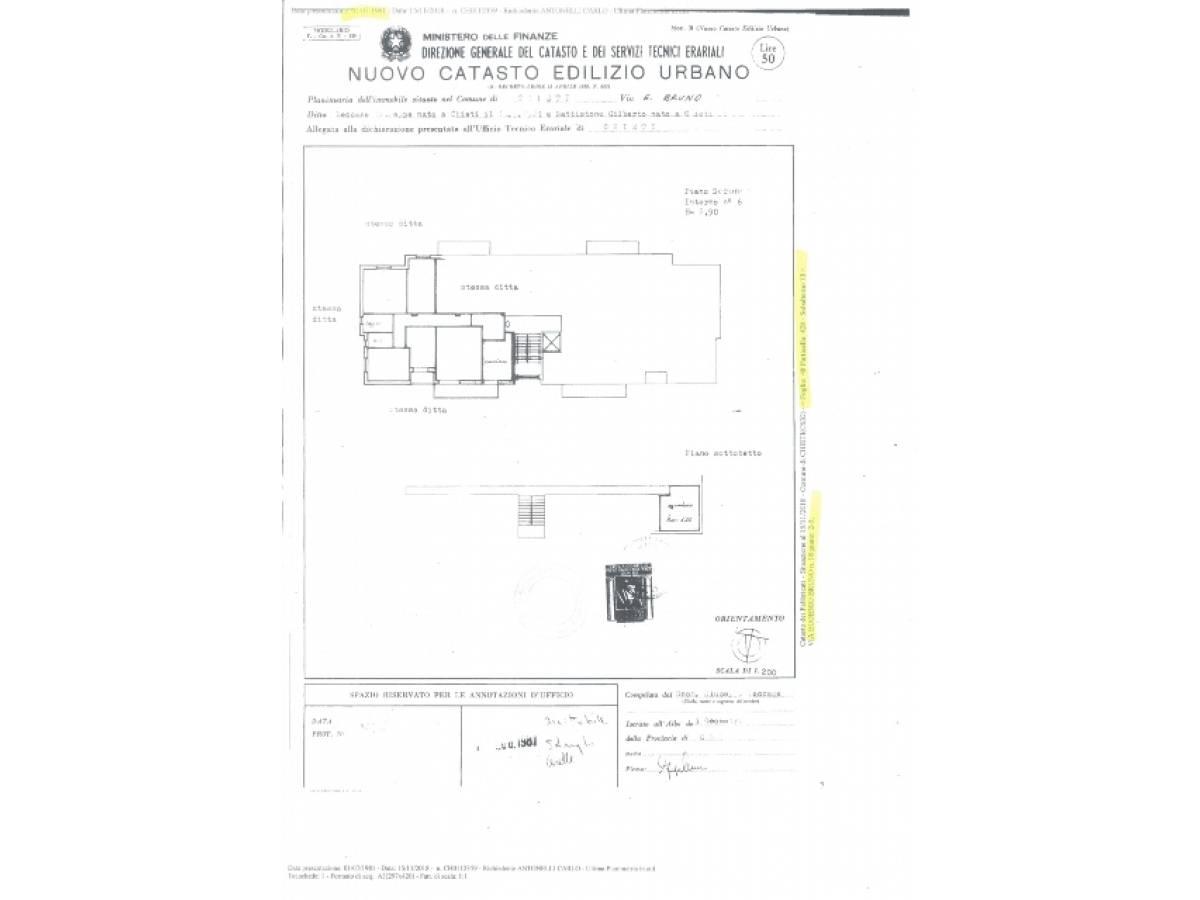 Appartamento in vendita in Via E.Bruno18  zona Theate Center - V. Spatocco a Chieti - 5583013 foto 19
