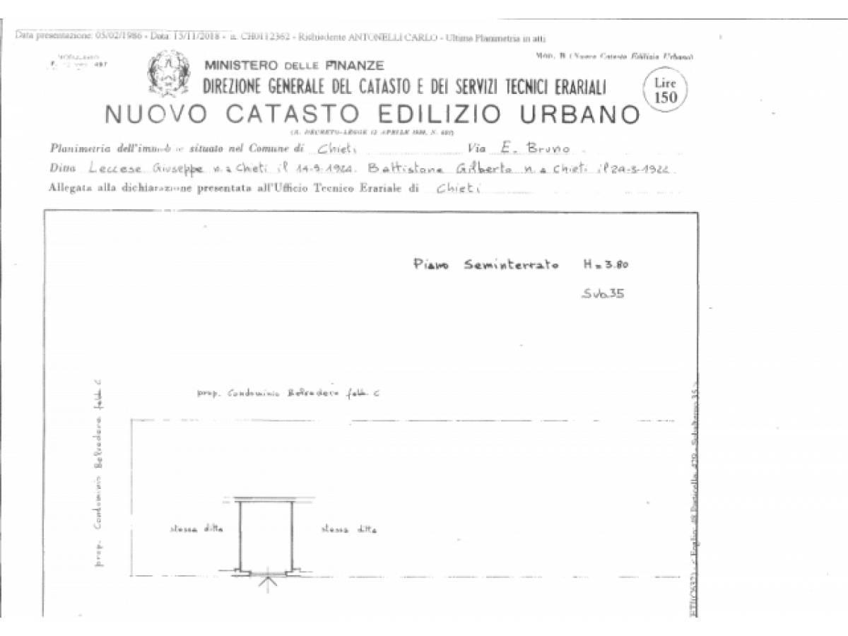 Appartamento in vendita in Via E.Bruno18  zona Theate Center - V. Spatocco a Chieti - 5583013 foto 20