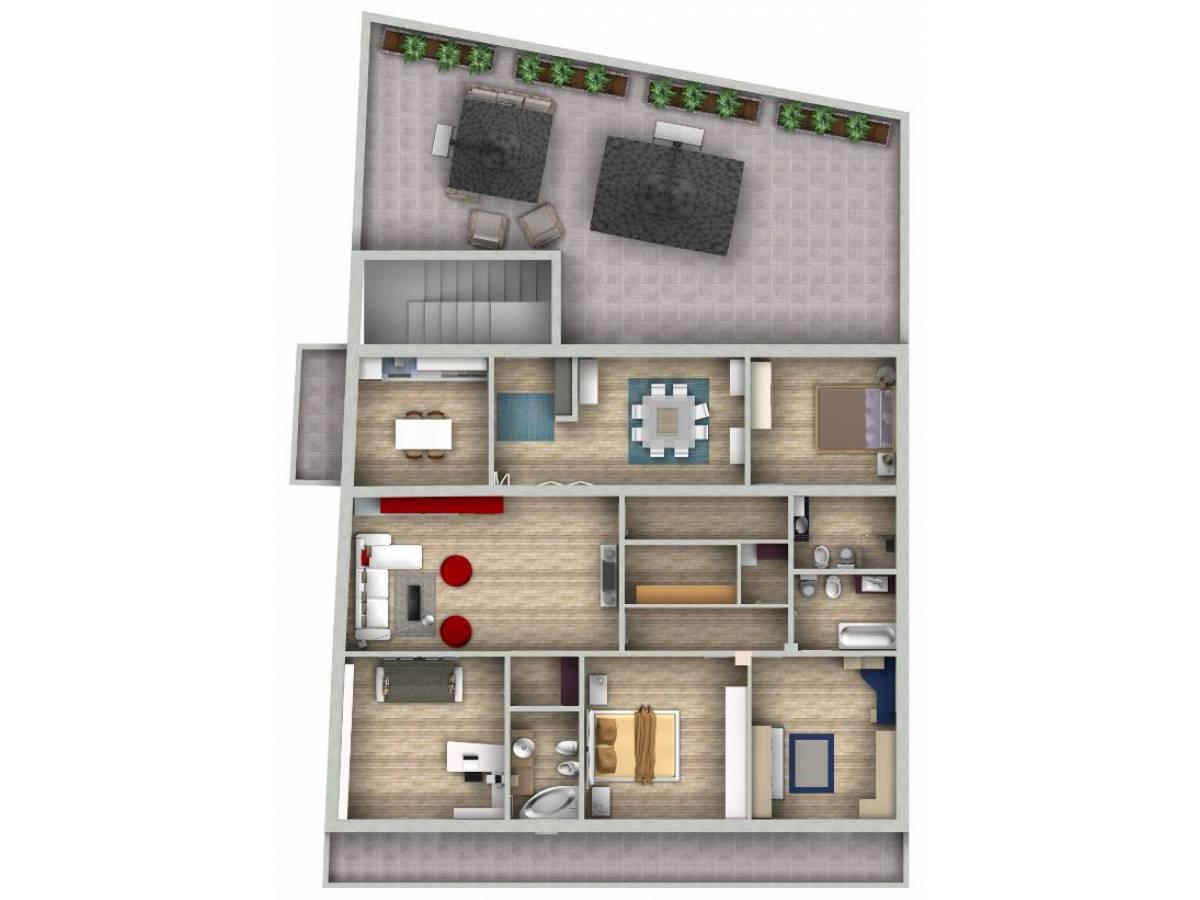 Casa indipendente in vendita in via adriatica sud  a Francavilla al Mare - 5524149 foto 13