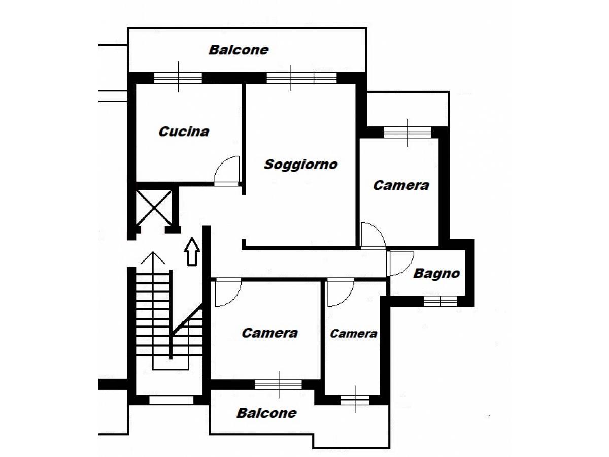 Appartamento in vendita in via Palena 40 zona Scalo Stazione-Centro a Chieti - 5078392 foto 12