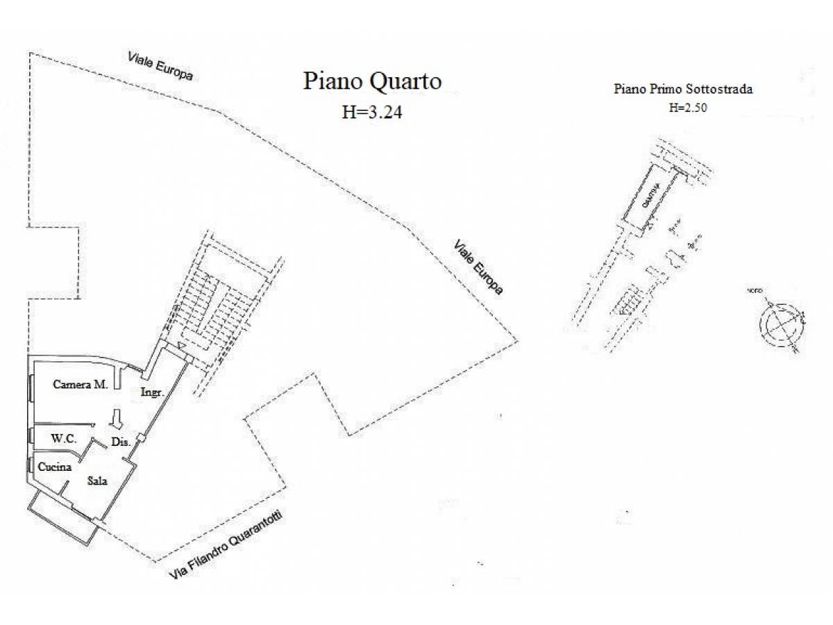 Appartamento in vendita in Via Filandro Quarantotti 2 zona Clinica Spatocco - Ex Pediatrico a Chieti - 6465898 foto 23