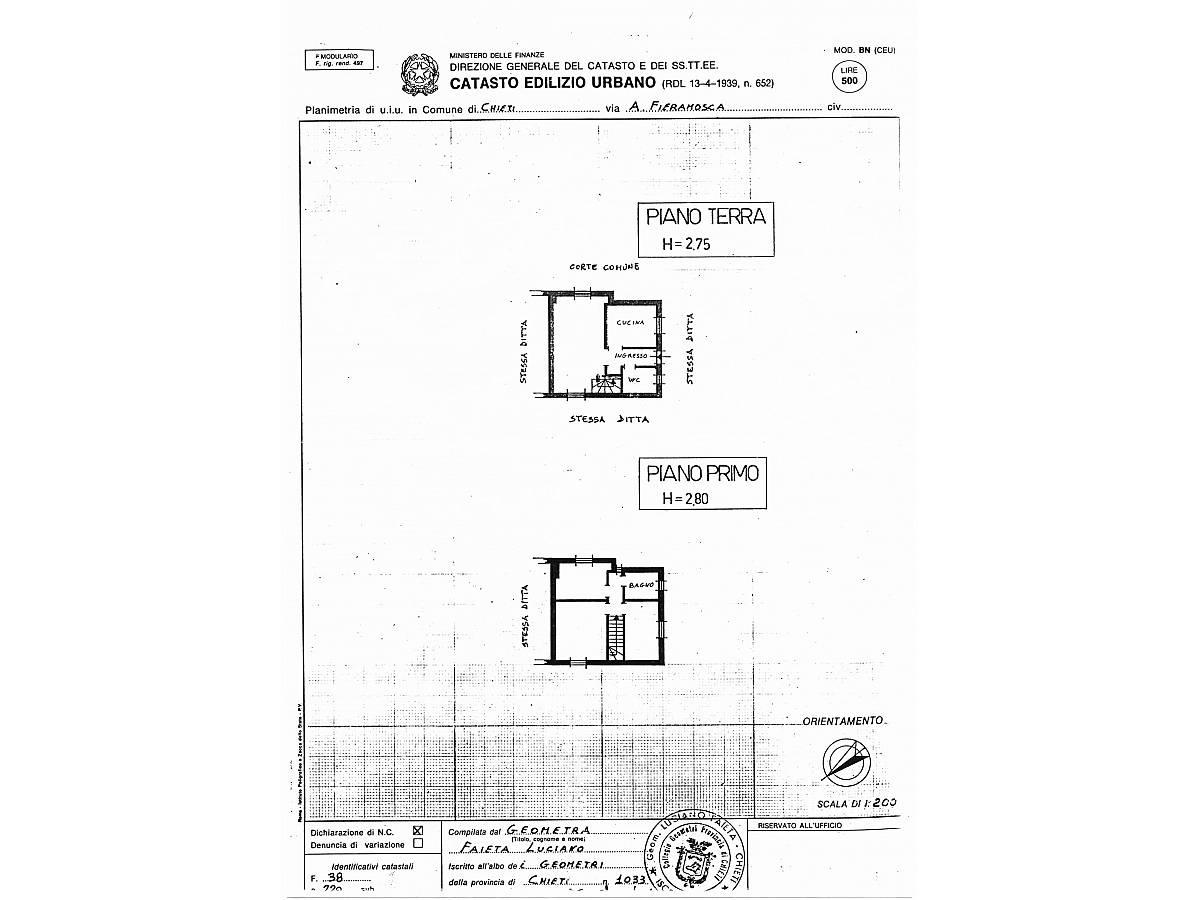 Casa indipendente in vendita in Via Anelli Fieramosca zona S. Anna - Sacro Cuore a Chieti - 7880231 foto 27