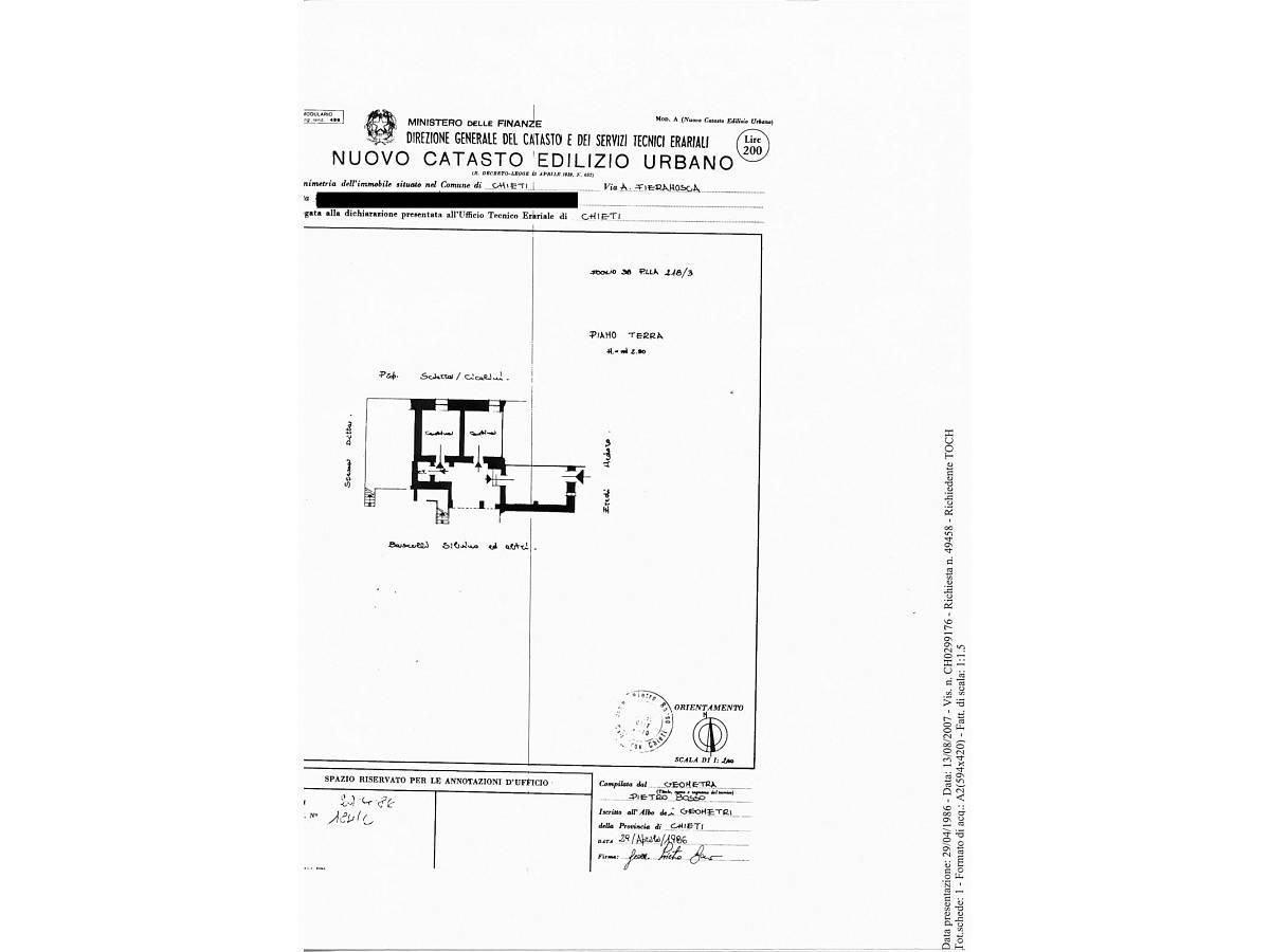 Casa indipendente in vendita in Via Anelli Fieramosca zona S. Anna - Sacro Cuore a Chieti - 7880231 foto 28