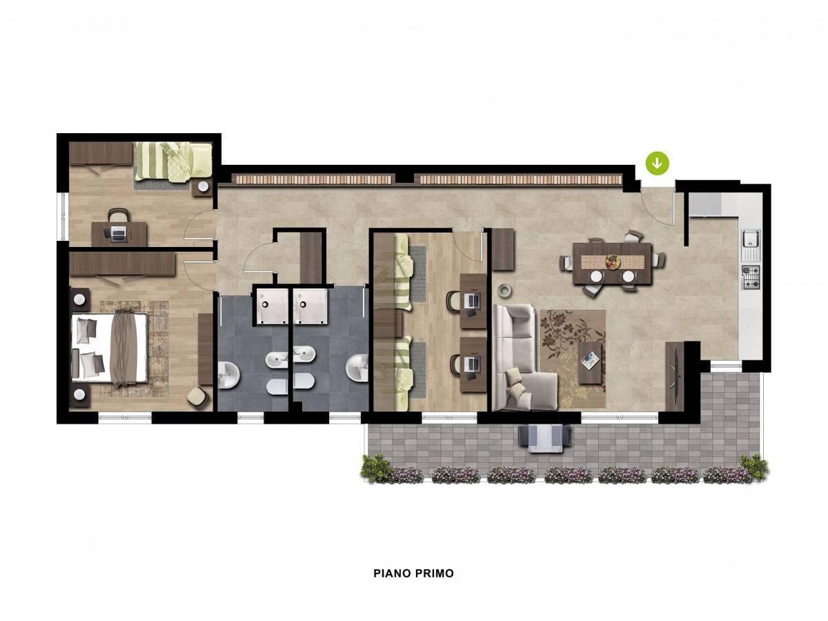 Appartamento in vendita in Via Molino zona Sambuceto Centro a San Giovanni Teatino - 2842627 foto 4