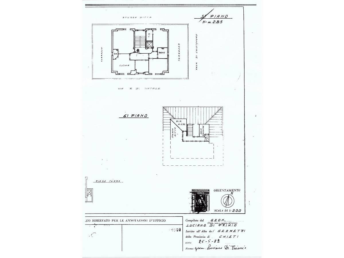 Appartamento in vendita in Via Raffaele Di Natale zona Filippone a Chieti - 5519 foto 11