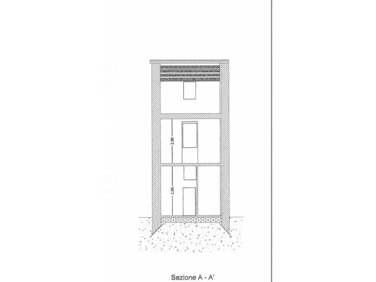 Casa indipendente in vendita in via del ghetto  a Città Sant'Angelo - 7577630 foto 15