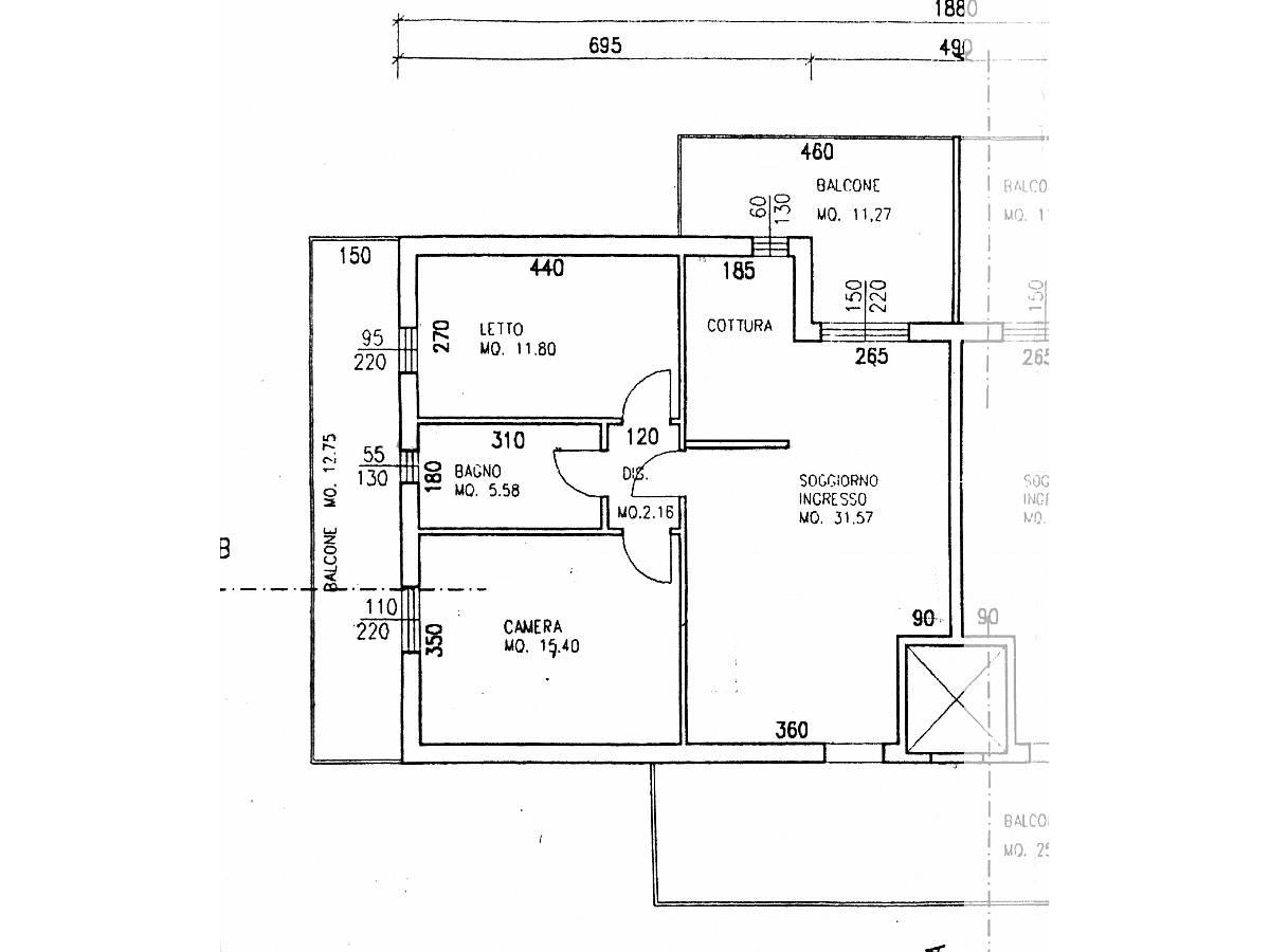 Appartamento in vendita in VIA TERAMO  a Città Sant'Angelo - 2631130 foto 15
