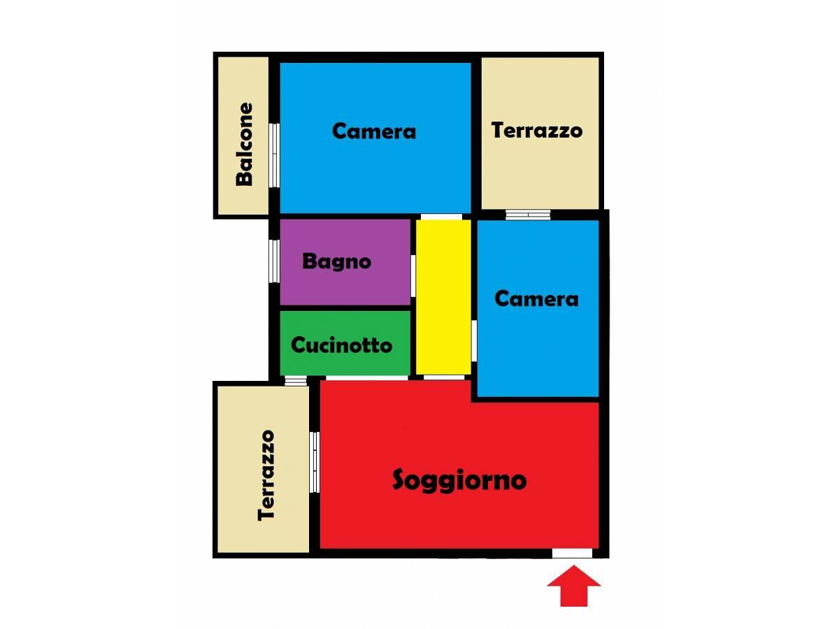 Appartamento in vendita in  zona Tiburtina - S. Donato a Pescara - 1845609 foto 16
