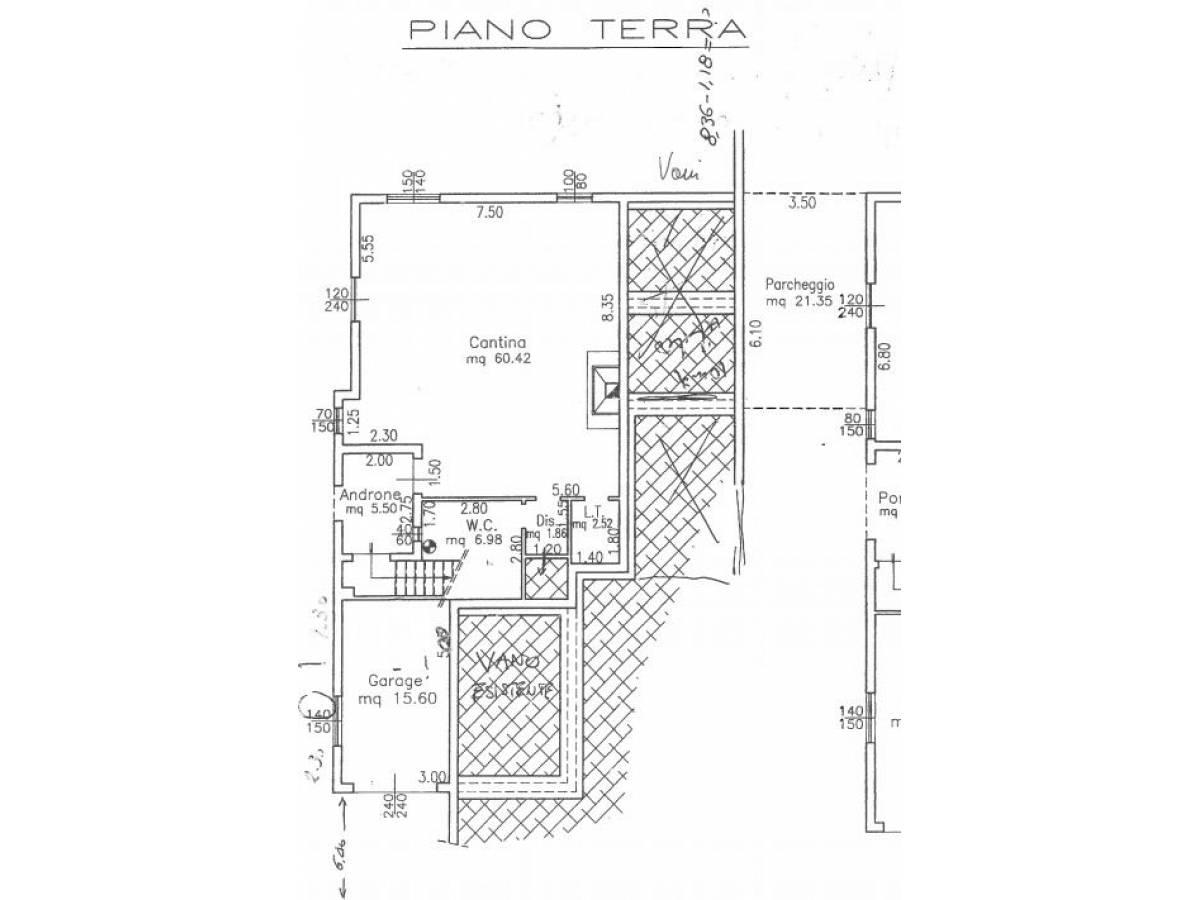 Villa bifamiliare in vendita in via delle more  a Città Sant'Angelo - 4024897 foto 28