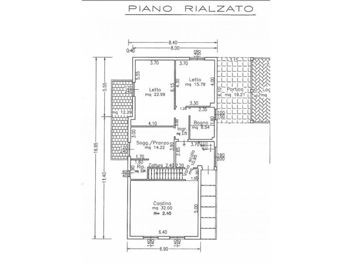 Villa bifamiliare in vendita in via delle more  a Città Sant'Angelo - 4024897 foto 29