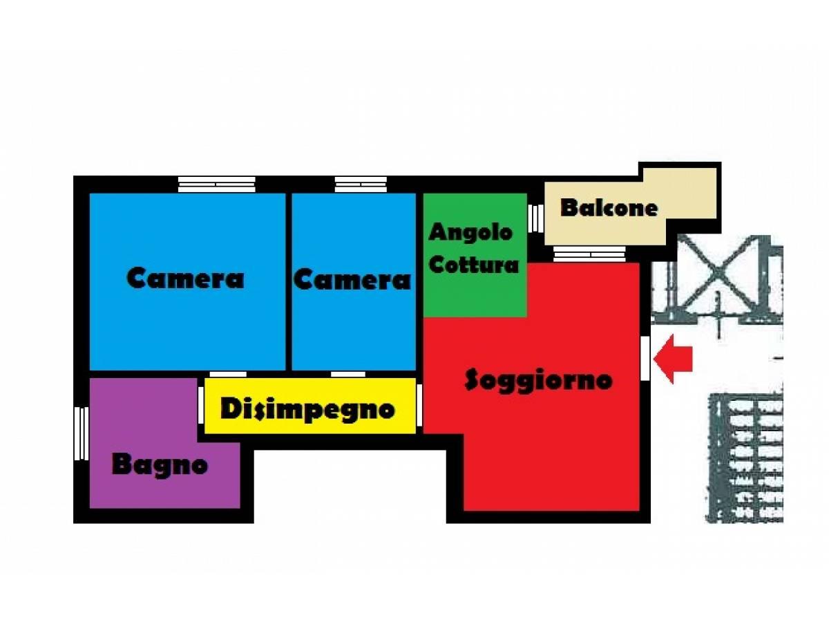 Appartamento in vendita in Via Di Sotto 20 zona Colli a Pescara - 372620 foto 11
