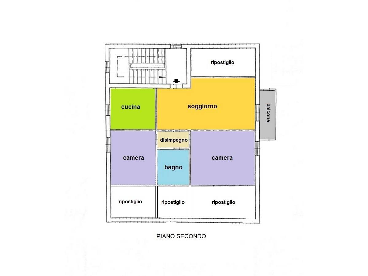 Appartamento in vendita in Via Vestina 412 zona Villa Carmine a Montesilvano - 8108430 foto 18