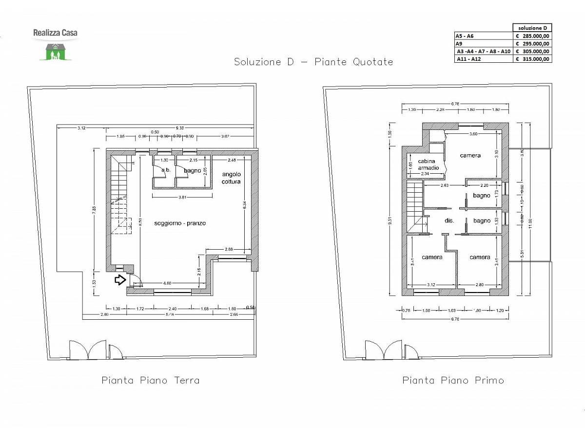 Casa indipendente in vendita in Via San Carlo Borromeo zona Villa Carmine a Montesilvano - 7412057 foto 30