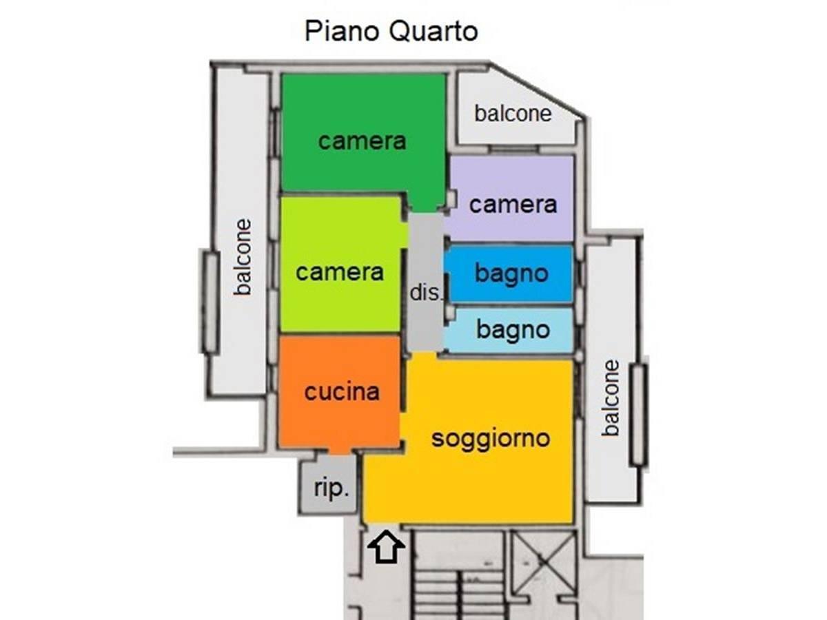 Appartamento in vendita in Via Salieri, 3 zona Villa Carmine a Montesilvano - 548232 foto 27