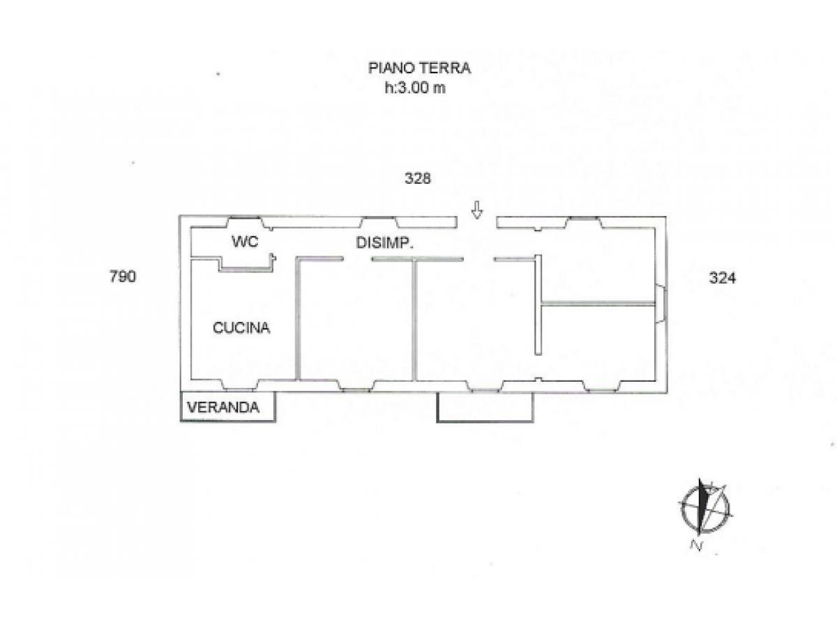 Casa indipendente in vendita in via Nicolodi zona Porta Pescara - V. Olivieri a Chieti - 8702712 foto 12
