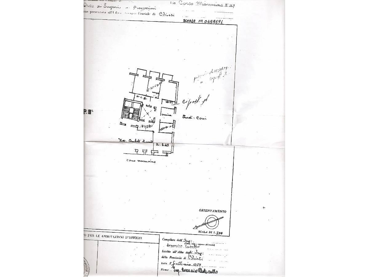 Appartamento in vendita in c.so Marrucino  zona C.so Marrucino - Civitella a Chieti - 3546123 foto 2